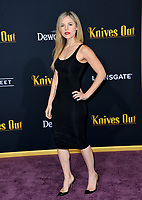 "LOS ANGELES, USA. November 15, 2019: Maria Gabriela Cardenas at the premiere of ""Knives Out"" at the Regency Village Theatre.<br /> Picture: Paul Smith/Featureflash"