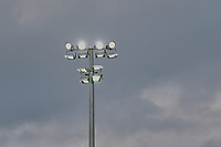 Floodlights on during Crawley Town vs Sutton United, Sky Bet EFL League 2 Football at The People's Pension Stadium on 16th October 2021