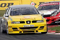 Round 7 of the 2005 British Touring Car Championship. #12. James Pickford (GBR). SEAT Sport UK. SEAT Toledo.
