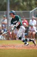 Michigan State Spartans catcher Will Salter (11) at bat during a game against the Illinois State Redbirds on March 8, 2016 at North Charlotte Regional Park in Port Charlotte, Florida.  Michigan State defeated Illinois State 15-0.  (Mike Janes/Four Seam Images)