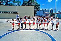 Crianças em Escola Municipal, Perdizes, São Paulo. 1998. Foto de Juca Martins.