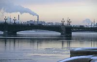 Europe-Asie/Russie/Saint-Petersbourg: Les bords de la Lena