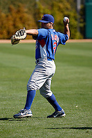 Luis Flores - Chicago Cubs - 2009 spring training.Photo by:  Bill Mitchell/Four Seam Images