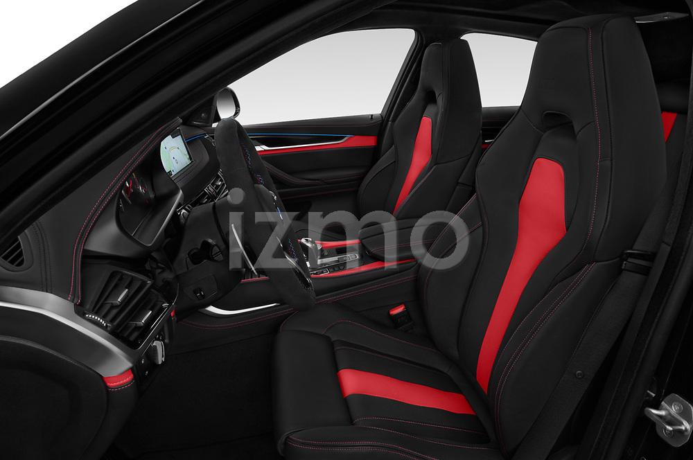 2018 BMW X6M Black Fire 5 Door SUV front seat car photos