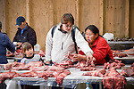 The fish and game market in Nuuk provided a feast for the eyes. Cape Farewell Youth Expedition 08(©Robert vanWaarden ALL RIGHTS RESERVED)
