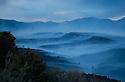 Blue (Abajo) mountain, north of Blanding, Utah