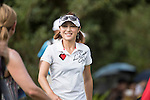 Cindy Lee during the World Celebrity Pro-Am 2016 Mission Hills China Golf Tournament on 22 October 2016, in Haikou, China. Photo by Weixiang Lim / Power Sport Images