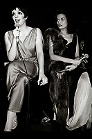 Minelli Jagger6873.JPG<br /> New York, NY 1978 FILE PHOTO<br /> Liza Minelli, Bianca Jagger<br /> Studio 54<br /> Digital photo by Adam Scull-PHOTOlink.net<br /> ONE TIME REPRODUCTION RIGHTS ONLY<br /> NO WEBSITE USE WITHOUT AGREEMENT<br /> 718-487-4334-OFFICE  718-374-3733-FAX