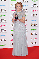 Mary Berry<br /> in the winners room at the National TV Awards 2017 held at the O2 Arena, Greenwich, London.<br /> <br /> <br /> ©Ash Knotek  D3221  25/01/2017