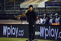 NEIVA - COLOMBIA, 27-05-2021: Atletico Huila y Deportes Quindio durante partido de ida de la Gran Final por el Torneo BetPlay DIMAYOR 2021 en el estadio Guillermo Plazas Alcid en la ciudad de Neiva. / Atletico Huila and Deportes Quindio, during a match of the first lego f the Play Offs for the BetPlay DIMAYOR 2021 Tournament at the Guillermo Plazas Alcid stadium in Neiva city. / Photo: VizzorImage / Tatiana Ramirez / Cont.