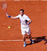 24-05-10, Tennis, France, Paris, Roland Garros, First round match, Andy Murray