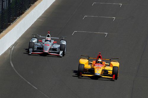 Verizon IndyCar Series<br /> Indianapolis 500 Carb Day<br /> Indianapolis Motor Speedway, Indianapolis, IN USA<br /> Friday 26 May 2017<br /> Ryan Hunter-Reay, Andretti Autosport Honda<br /> World Copyright: Phillip Abbott<br /> LAT Images<br /> ref: Digital Image abbott_indy_0517_27810