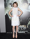 Emily Browning at The Warner Bros. Pictures World Premiere of Sucker Punch held at The Grauman's Chinese Theatre in Hollywood, California on March 23,2011                                                                               © 2010 Hollywood Press Agency