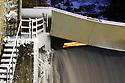 27/01/07 - THIERS - PUY DE DOME - FRANCE - La Vallee des Usines et le Creux de l Enfer - Photo Jerome CHABANNE