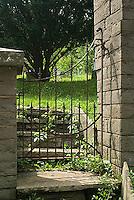 Cemetery gate<br />