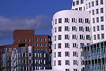 Europe, DEU, Germany, Northrhine Westphalia, Rhineland, Lower Rhine, Dusseldorf, Media Port, New Zollhof....[ For each utilisation of my images my General Terms and Conditions are mandatory. Usage only against use message and proof. Download of my General Terms and Conditions under http://www.image-box.com or ask for sending. A clearance before usage is necessary...Material is subject to royalties. Each utilisation of my images is subject to a fee in accordance to the present valid MFM-List...Contact | archive@image-box.com | www.image-box.com ]