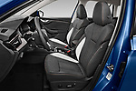 Front seat view of a 2020 Skoda Kamiq Style 5 Door SUV front seat car photos