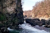 La Forra dell'Adda presso Paderno d'Adda (Lecco) --- The Forra dell'Adda (Canyon of Adda river) near Paderno d'Adda