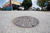 Traffic flows along Emma Ave. in Springdale Thursday July 29, 2021. Visit nwaonline.com/21000730Daily/ and nwadg.com/photo. (NWA Democrat-Gazette/J.T. Wampler)