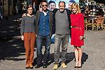 "Dani Rovira, Karra Elejalde, Alexandra Jimenez during the photocall with the arctor of the film ""100 METROS"" at Paz cinema in  Madrid, Spain. November 02, 2016. (ALTERPHOTOS/Rodrigo Jimenez)"