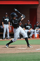 University of Cincinnati Bearcats infielder Jake Richmond (15) during a game against the Rutgers University Scarlet Knights at Bainton Field on April 19, 2014 in Piscataway, New Jersey. Rutgers defeated Cincinnati 4-1.  (Tomasso DeRosa/ Four Seam Images)