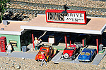 model of a 50's drive in diner