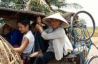 Sammeltaxi bei Nha Trang, Vietnam