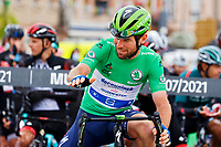 14th July 2021, Muret,  France; CAVENDISH Mark (GBR) of DECEUNINCK - QUICK-STEP ready for stage 17 of the 108th edition of the 2021 Tour de France cycling race, a stage of 178,4 kms between Muret and Saint-Lary-Soulan.