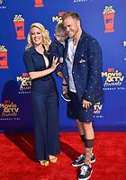 SANTA MONICA, USA. June 16, 2019: Heidi Montag, Spencer Pratt & Gunner Stone at the 2019 MTV Movie & TV Awards at Barker Hangar, Santa Monica.<br /> Picture: Paul Smith/Featureflash