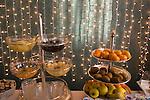 Fruit, Les Etoiles Restaurant, Rome, Italy, Europe
