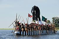 ZAMBIA Kuomboka Festival in Barotseland