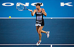 Jelena Jankovic of Serbia vs Aleksandra Krunic of Serbia during their Singles Round 2 match at the WTA Prudential Hong Kong Tennis Open 2016 at the Victoria Park Tennis Stadium on 12 October 2016 in Hong Kong, China. Photo by Marcio Rodrigo Machado / Power Sport Images