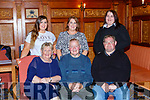 Johnny O'Sullivan Firies celebrated his 70th birthday with his family in the Killarney Avenue Hotel on Saturday night front row l-r: Breda, Johnny, Miv=chael. Back row Amanad, Linda and Geraldine O'Sulllivan