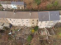 2019 02 11 House to be demolished due to landslides, Ystalyfera, Wales, UK