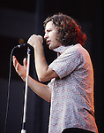 Pearl Jam 1993 Eddie Vedder<br /> © Photofeatures