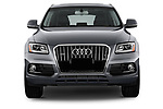 Car photography straight front view of a 2013-2014 Audi Q5 Base 5 Door SUV