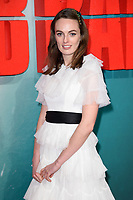 "Violet Manner<br /> arriving for the ""Tomb Raider"" premiere at the Vue Leicester Square, London<br /> <br /> ©Ash Knotek  D3385  0/03/2018"