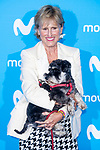 Mercedes Mila attends to blue carpet of presentation of new schedule of Movistar+ at Queen Sofia Museum in Madrid, Spain. September 12, 2018. (ALTERPHOTOS/Borja B.Hojas)