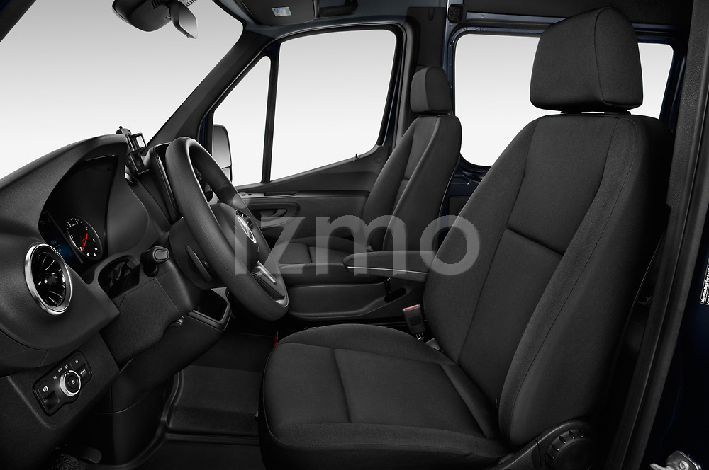 Front seat view of 2019 Mercedes Benz Sprinter-Tourer Design-Line 4 Door Passanger Van Front Seat  car photos