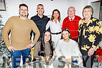 Geri O'Carroll from Tralee celebrating her 21st birthday on Saturday in Bella Bia.<br /> Seated l to r: Geri and Bronagh O'Carroll.<br /> Back l to r: Leo de Whorse, Declan O'Carroll, Aine Savage, Gerry and Ann O'Carroll