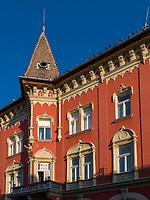 am Korzo, Subotica, Vojvodina, Serbien, EuropaHouse at Korzo, Subotica, Vojvodina, Serbia, Europe