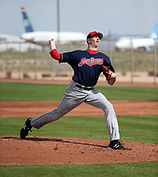 Liam Jenkins - Cleveland Indians 2019 spring training (Bill Mitchell)