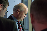 Sitzung des NSA-Untersuchungsausschuss am Donnerstag den 18. Juni 2015.<br /> Im Bild: Klaus-Dieter Fritsche musste als Zeuge vor den Untersuchungsausschuss. Er war von 2005 bis 2009 Abeitlungsleiter 6 im Bundeskanzleramt; von 2009 bis 2013 Staatssekretaer (Sts) im Bundesministerium des Innern; seit 2013 Sts im Bundeskanzleramt.<br /> 18.6.2015, Berlin<br /> Copyright: Christian-Ditsch.de<br /> [Inhaltsveraendernde Manipulation des Fotos nur nach ausdruecklicher Genehmigung des Fotografen. Vereinbarungen ueber Abtretung von Persoenlichkeitsrechten/Model Release der abgebildeten Person/Personen liegen nicht vor. NO MODEL RELEASE! Nur fuer Redaktionelle Zwecke. Don't publish without copyright Christian-Ditsch.de, Veroeffentlichung nur mit Fotografennennung, sowie gegen Honorar, MwSt. und Beleg. Konto: I N G - D i B a, IBAN DE58500105175400192269, BIC INGDDEFFXXX, Kontakt: post@christian-ditsch.de<br /> Bei der Bearbeitung der Dateiinformationen darf die Urheberkennzeichnung in den EXIF- und  IPTC-Daten nicht entfernt werden, diese sind in digitalen Medien nach §95c UrhG rechtlich geschuetzt. Der Urhebervermerk wird gemaess §13 UrhG verlangt.]