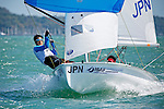 Japan	420	Men	Crew	JPNTM29	Takumi	Miura<br /> Japan	420	Men	Helm	JPNKM32	Kotaro	Matsuo<br /> Day2, 2015 Youth Sailing World Championships,<br /> Langkawi, Malaysia