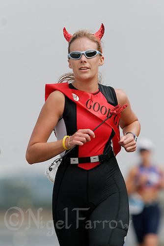 05 AUG 2006 - HOLME PIERREPONT, GBR - British Club Relay Triathlon Championships (PHOTO (C) NIGEL FARROW)