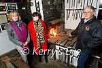 Members of the Spa/Fenit Community Council stoking the fire in the Old Forge in Churchill on Monday. Front right: Dermot Crowley. Back l to r: Michelle Burke and Grainne Landers.