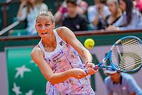 Paris, France, 02 June, 2018, Tennis, French Open, Roland Garros, Karolina Pliskova (CZE)<br /> Photo: Henk Koster/tennisimages.com