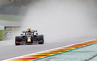 28th August 2021; Spa Francorchamps, Stavelot, Belgium: FIA F1 Grand Prix of Belgium, qualifying sessions;   33 Max Verstappen NED, Red Bull Racing