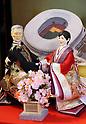 Doll maker Kyugetsu displays hinadolls of Rui Hachimura and Hinako Shibuno