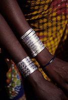 Delaquara, Niger. Fulani Bracelets.